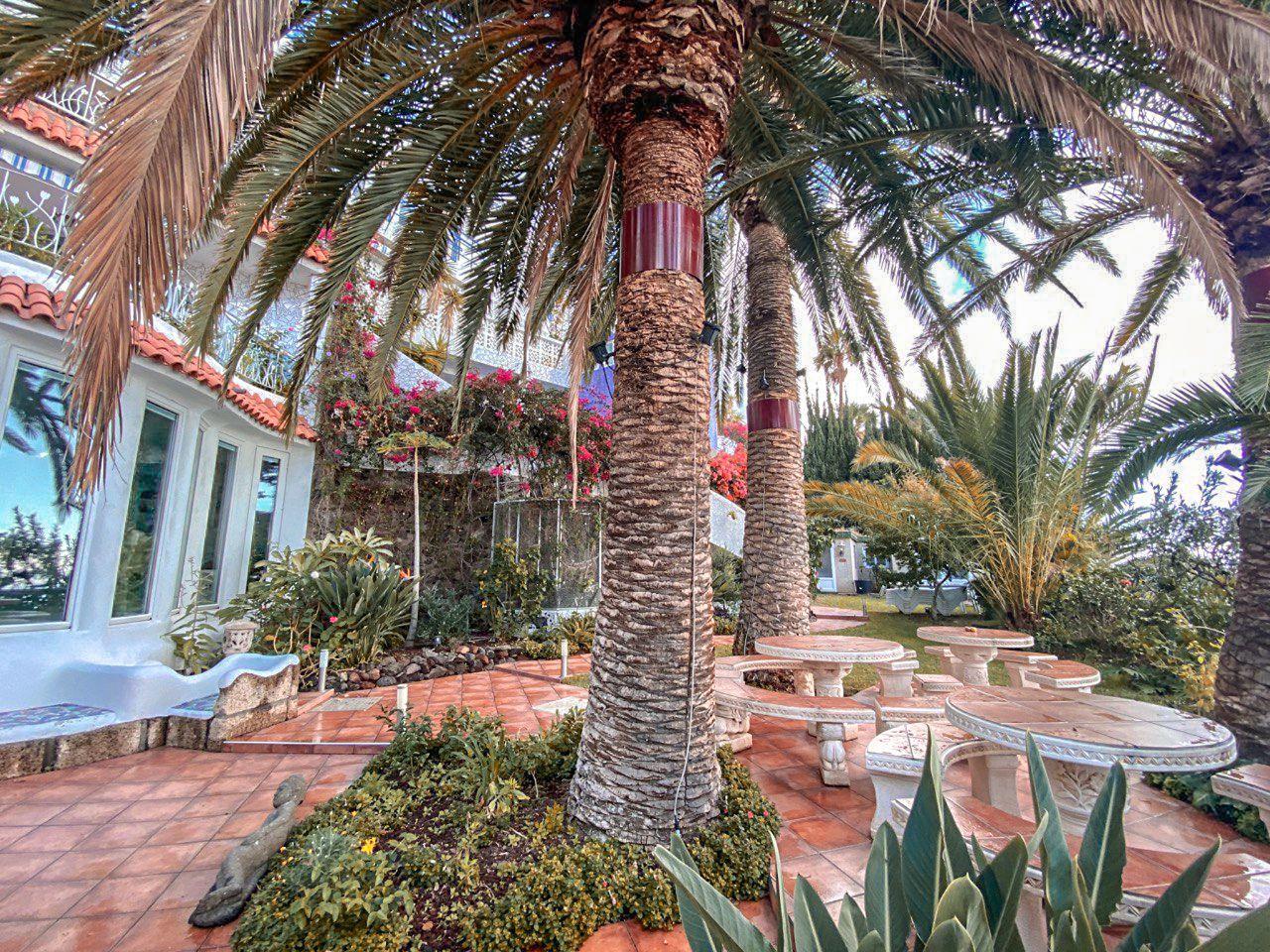 Gartenebene Seminarhaus Castillo Moro