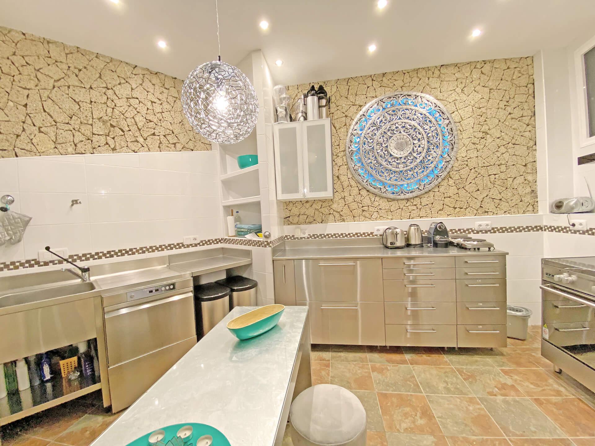 Gastro Küche Reatreatzentrum Castillo Moro Teneriffa