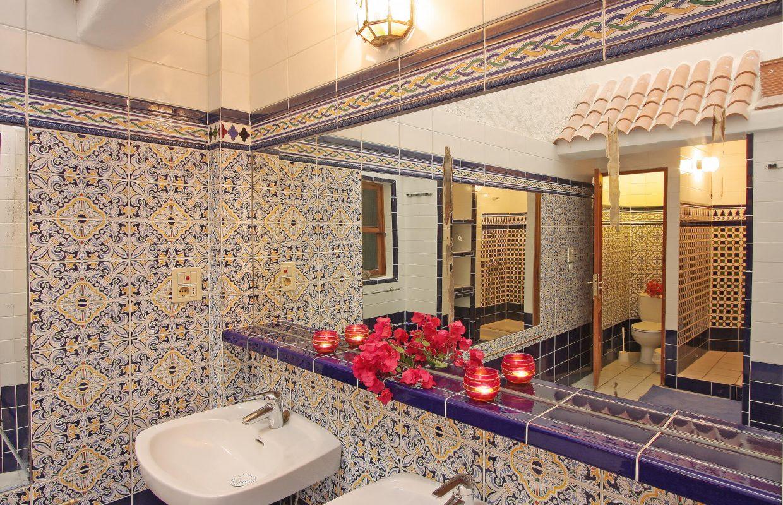 App. Baño Flambojan Shower Waschbecken Kopie