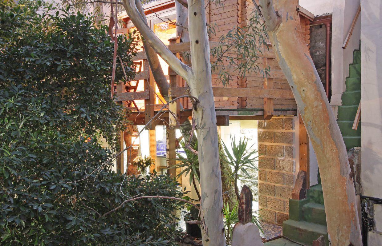 Baumhaus von Außen