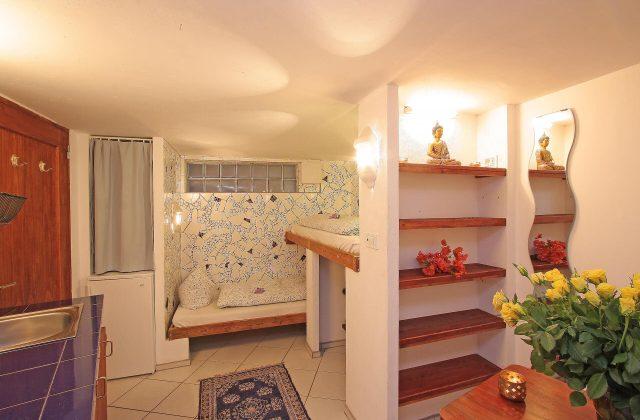 Cueva Einzelbett Schlafzimmer